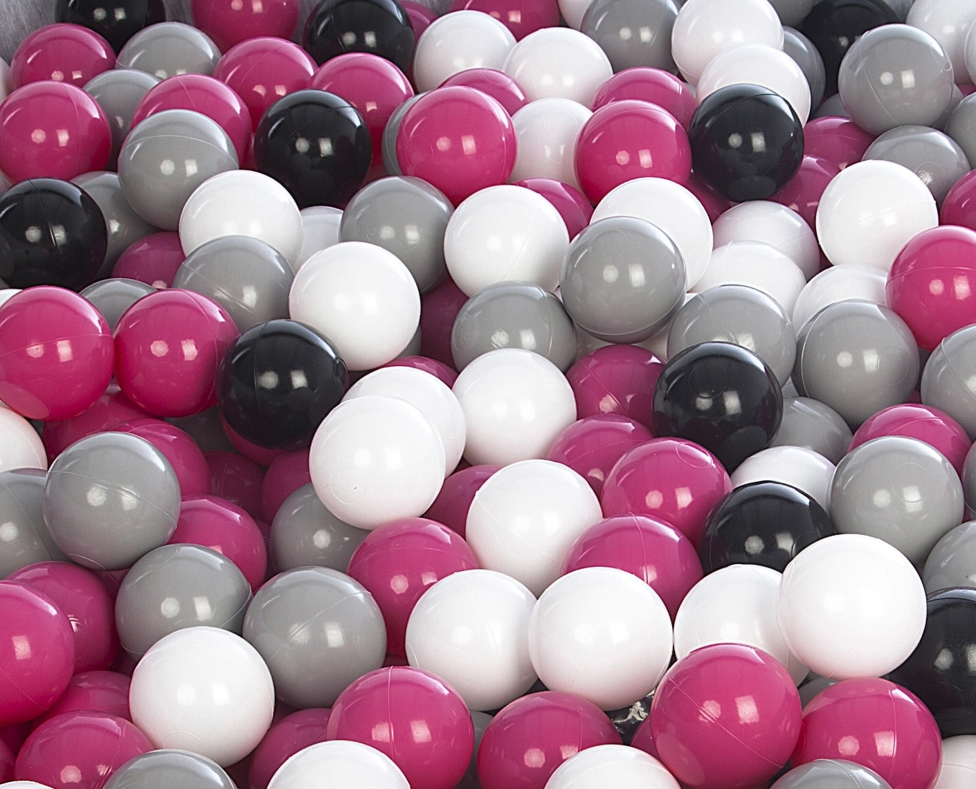 Célébrez le Nouvel An Noël Noël Noël Set de 1000 balles,boule colorée en plastique souple,Ø7cm,enfant,piscine,jouets b391b3